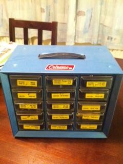 Coleman Parts Cabinet