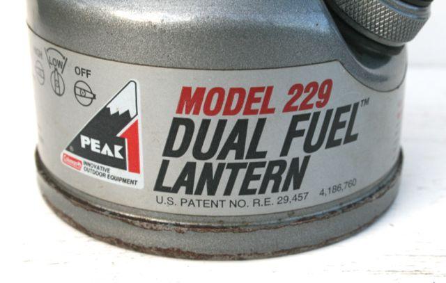Coleman 229 (1996) | Classic Pressure Lamps & Heaters