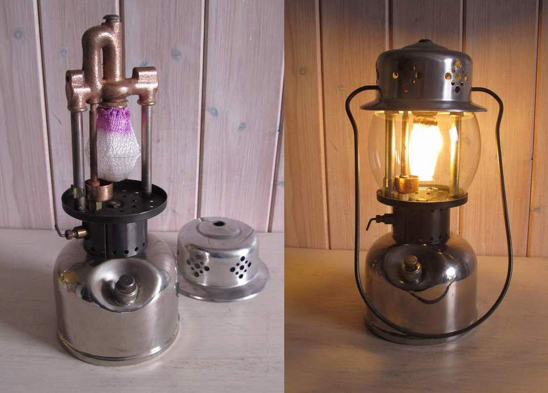 for two coleman lanterns ole s remote pack led lantern grandpa quick lamp switch made inserts