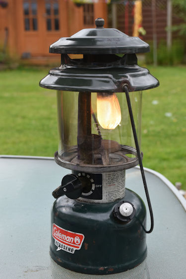 Coleman Kerosene Problem   Classic Pressure Lamps & Heaters