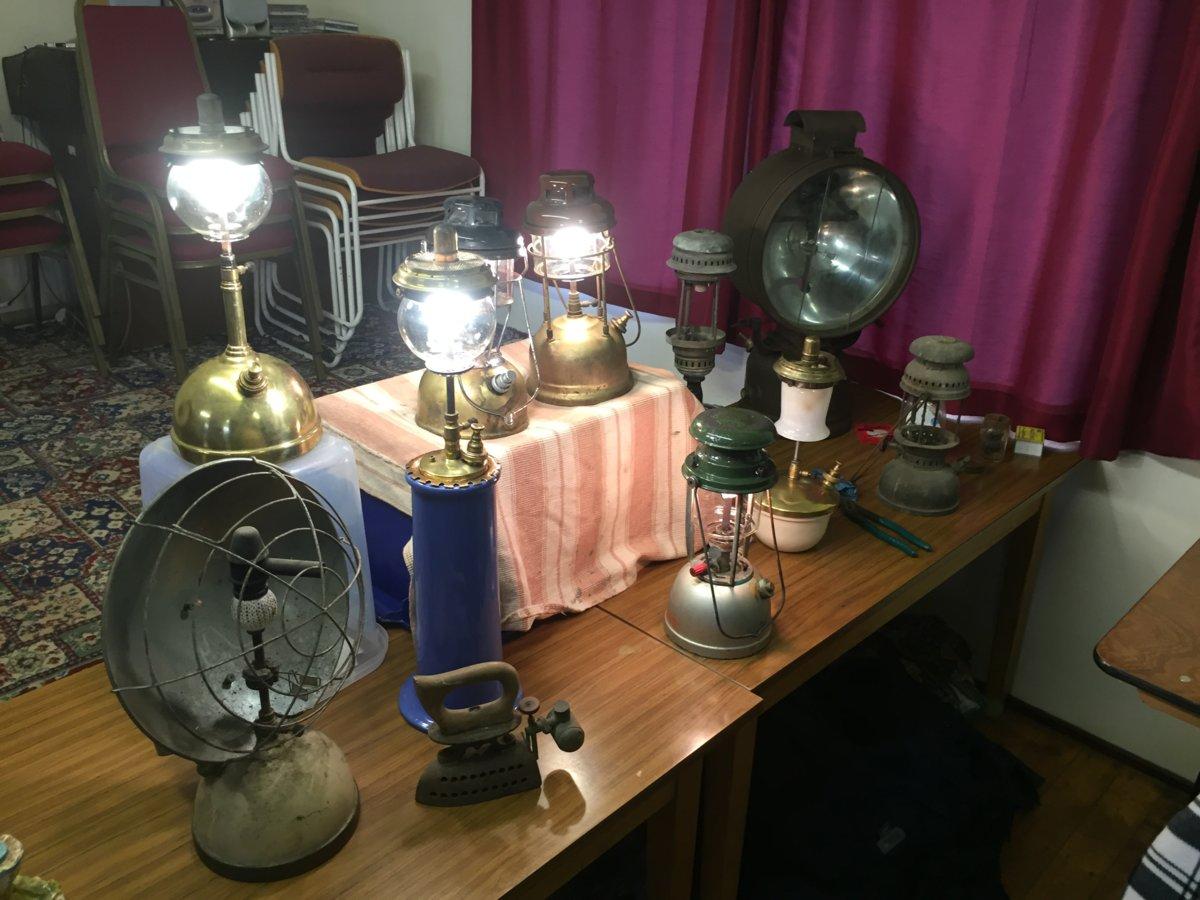 the historic lighting club meet 08 04 2018 classic pressure lamps